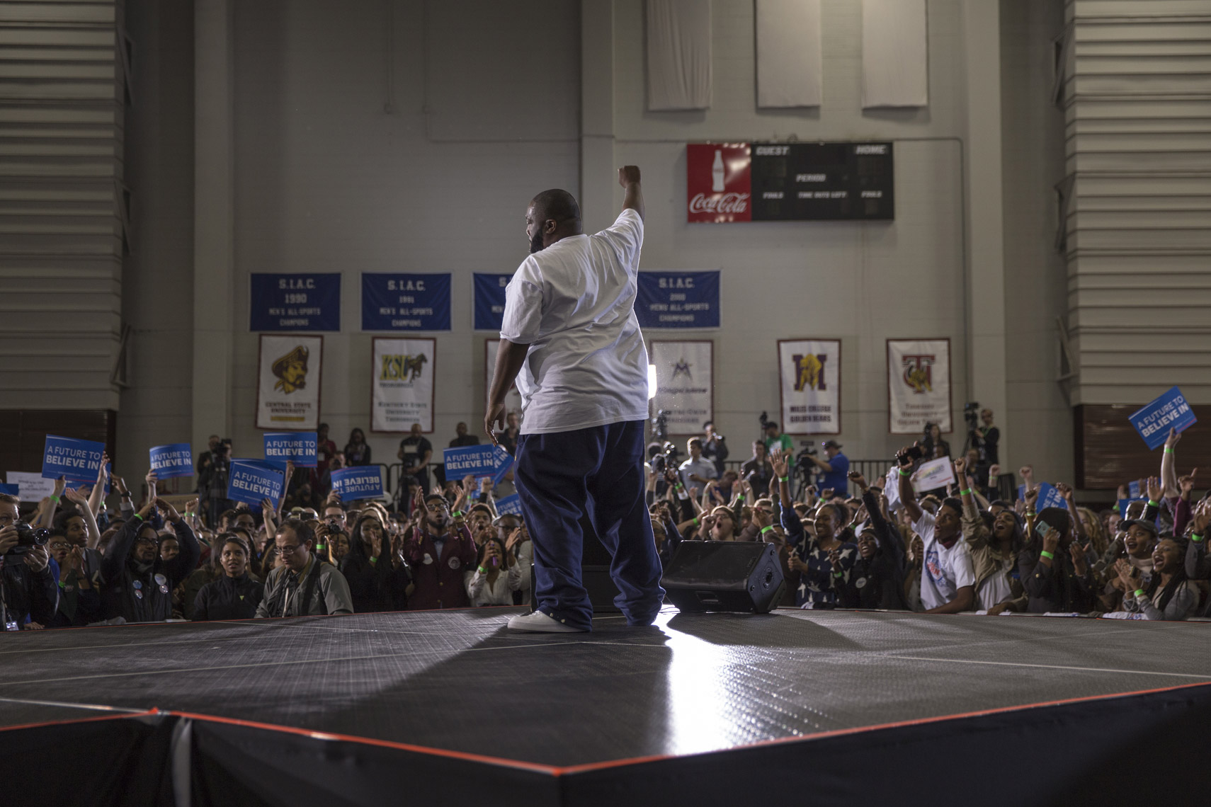 Killer Mike feels the Bern