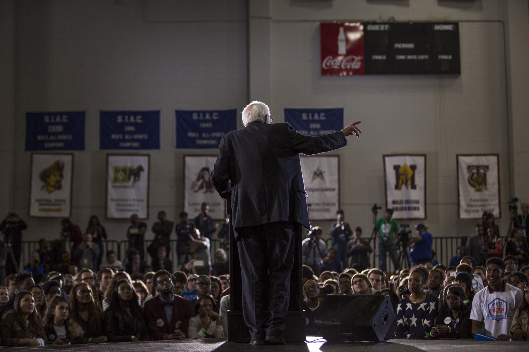Bernie Sanders at Morehouse College