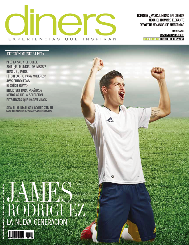 james-rodriguez-diners-cover